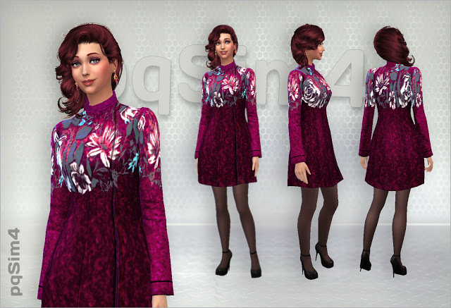 Coats by Mary Jimenez at pqSims4 image 293 Sims 4 Updates