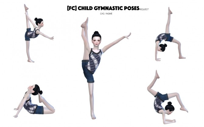 Children Gymnastic Poses at Flower Chamber image 3011 670x419 Sims 4 Updates