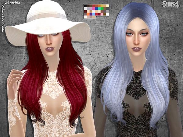Sims 4 Hair s25 Ashe by Sintiklia at TSR