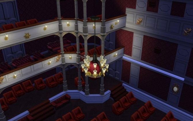 Semperoper Concert Hall No Cc By Glouryian At Mod The Sims