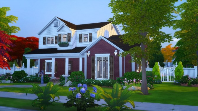 Sims 4 Azalea Townhouse at Illawara's Simblr