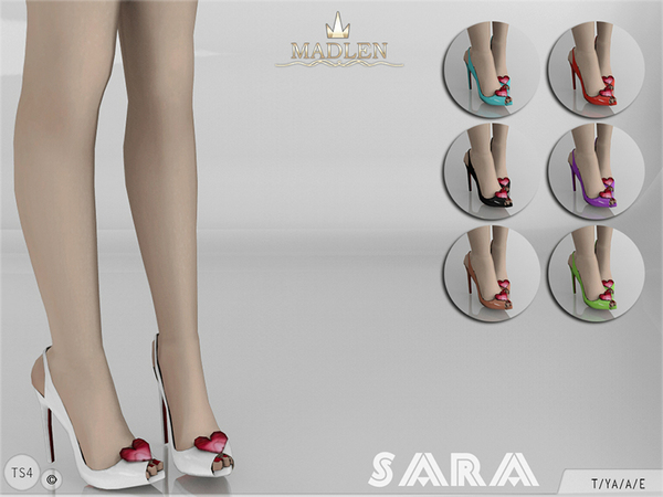 Madlen Sara Shoes by MJ95 at TSR image 326 Sims 4 Updates