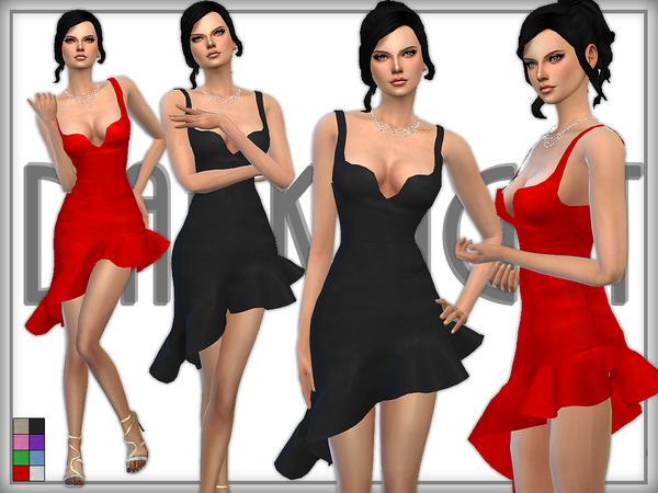 Sims 4 Tango dress by DarkNighTt at TSR