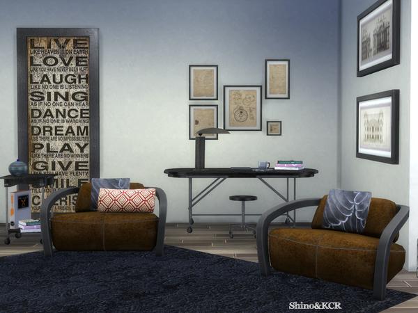 Sims 4 Bedroom Loft by ShinoKCR at TSR
