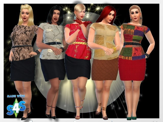 Sims 4 Male sweaters + dress by Chalipo at All 4 Sims