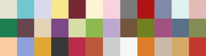 Sims 4 Richie Blinds in Poppets Memories Palette at Simsnacks