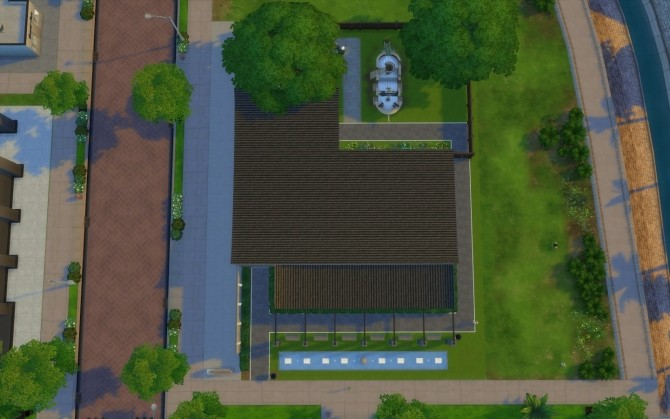 Sims 4 Newcrest Public Library by jwilli at Mod The Sims
