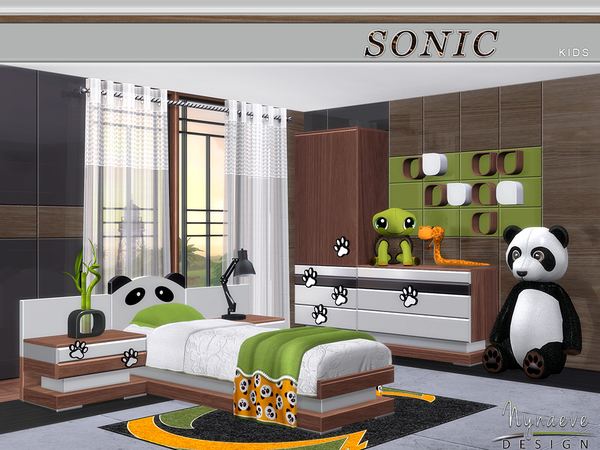 Sonic Kids room by NynaeveDesign at TSR image 40 Sims 4 Updates