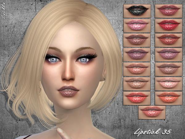 Lipstick 253 by Sintiklia at TSR image 407 Sims 4 Updates