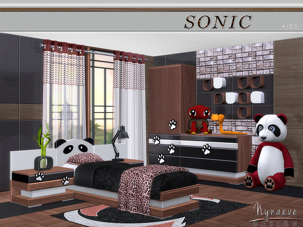 Sonic Kids room by NynaeveDesign at TSR image 41 Sims 4 Updates