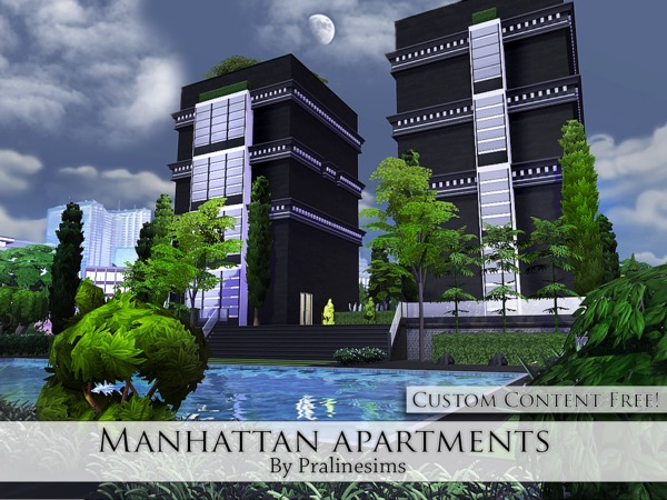 Manhattan Apartments by Pralinesims at TSR image 421 Sims 4 Updates