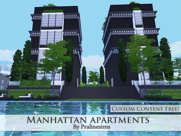 Manhattan Apartments by Pralinesims at TSR image 431 Sims 4 Updates