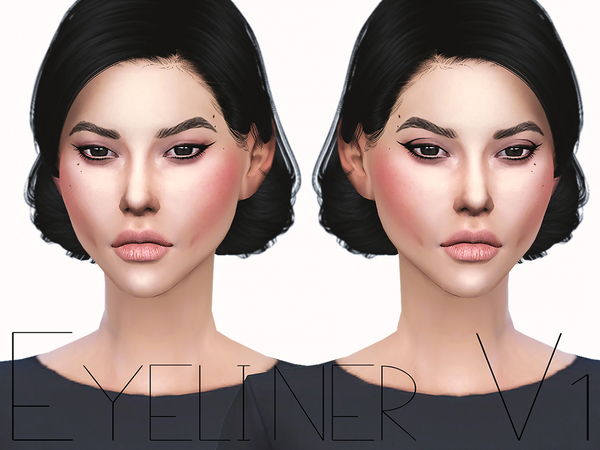 Eyeliner V1 by Ms Blue at TSR image 4313 Sims 4 Updates
