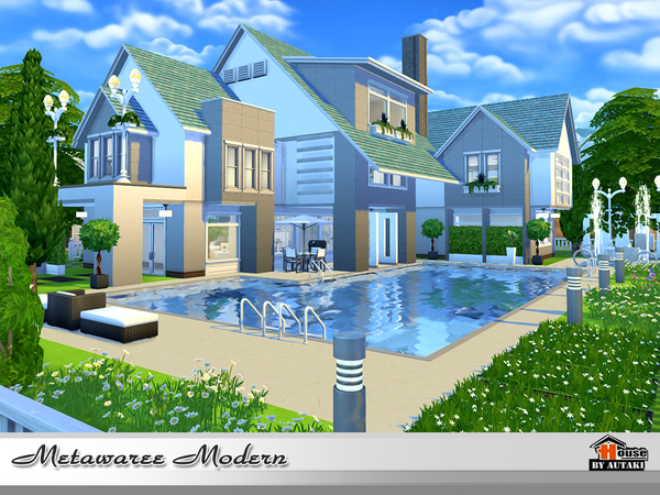 Natawaree villa by autaki at TSR image 4315 Sims 4 Updates