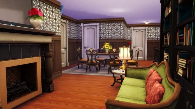 Sims 4 Cypress Craftsman house at Illawara's Simblr