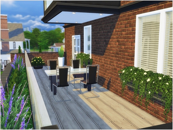Traditional Modern house by ArwenKaboom at TSR image 4323 Sims 4 Updates