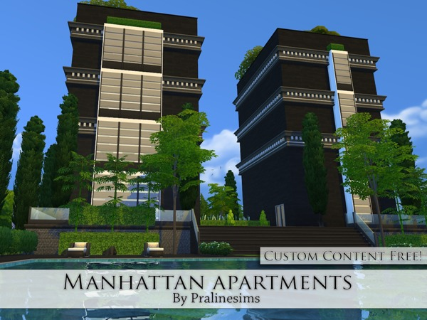 Manhattan Apartments by Pralinesims at TSR image 441 Sims 4 Updates