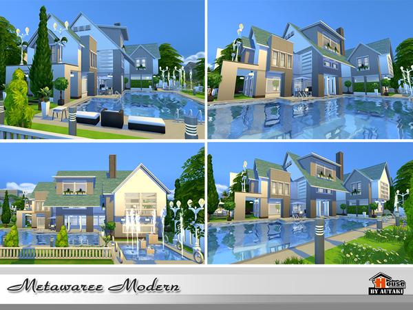 Natawaree villa by autaki at TSR image 4413 Sims 4 Updates