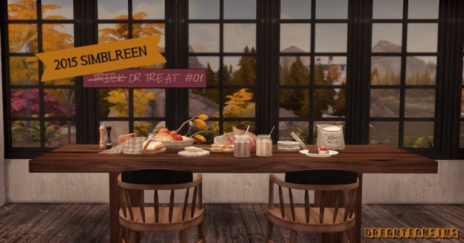 Sims 4 2015 Simblreen Trick or Treat #01 at Dream Team Sims