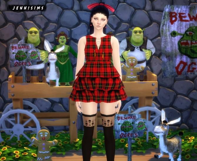 Shrek, Fiona, Donkey, Gingerbread, Sign at Jenni Sims image 4418 670x550 Sims 4 Updates