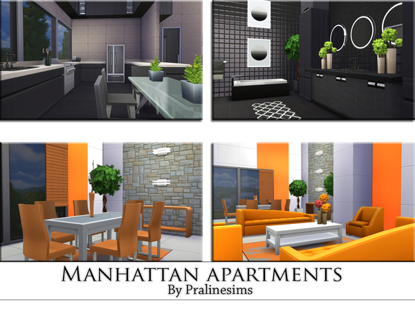 Manhattan Apartments by Pralinesims at TSR image 451 Sims 4 Updates