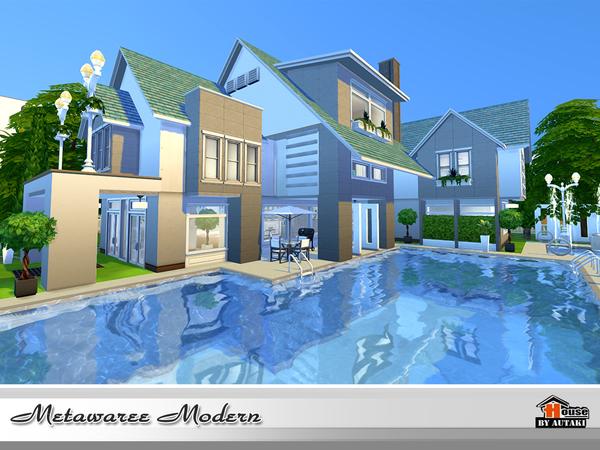 Natawaree villa by autaki at TSR image 4514 Sims 4 Updates