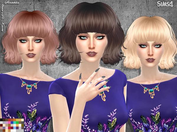 Hair s26 Kaori by Sintiklia at TSR image 4523 Sims 4 Updates