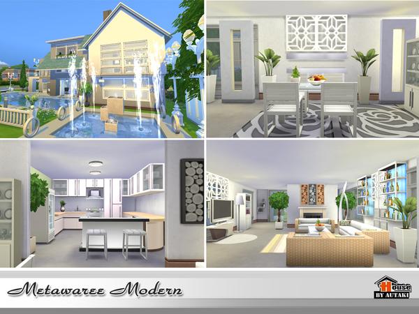 Natawaree villa by autaki at TSR image 4613 Sims 4 Updates