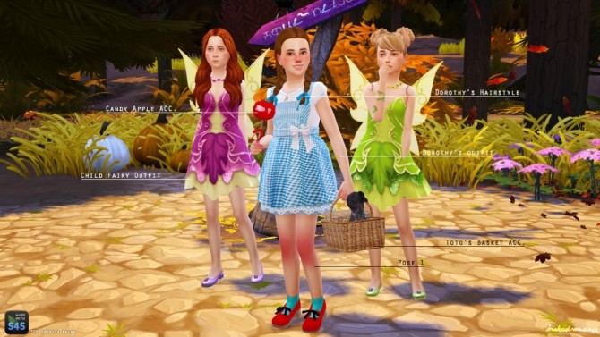 Sims 4 SIMBLREEN 2015 Part 1: Costumes at In a bad Romance
