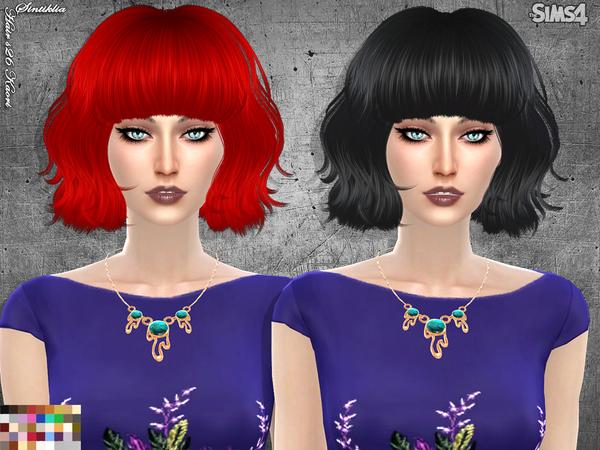 Hair s26 Kaori by Sintiklia at TSR image 4622 Sims 4 Updates