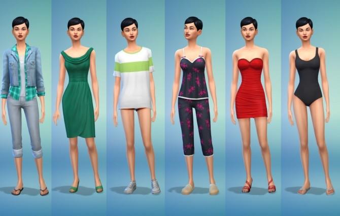 Sims 4 Rachael Woods at Illawara's Simblr