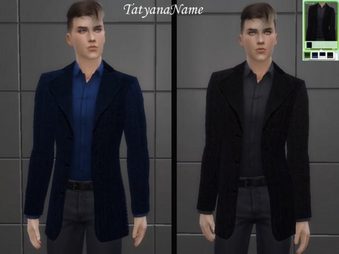 Sims 4 Coat for males at Tatyana Name