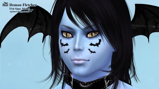Sims 4 Bat Demon Fletcher at NG Sims3