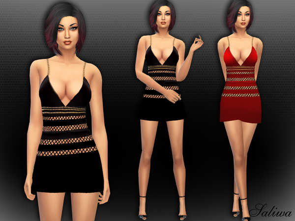 Sophia Bella Dress by Saliwa at TSR image 5101 Sims 4 Updates