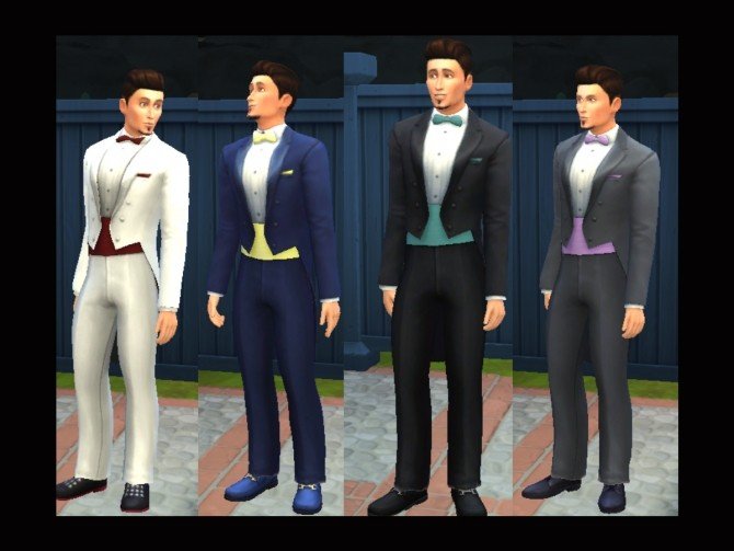 Sims 4 Tuxedo Transformed by Simmiller at Mod The Sims