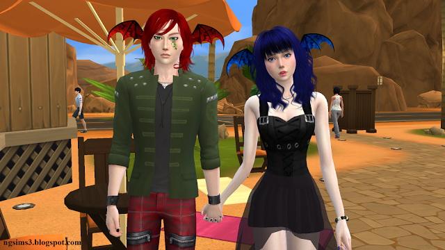 Sims 4 Devil Wing Ears at NG Sims3