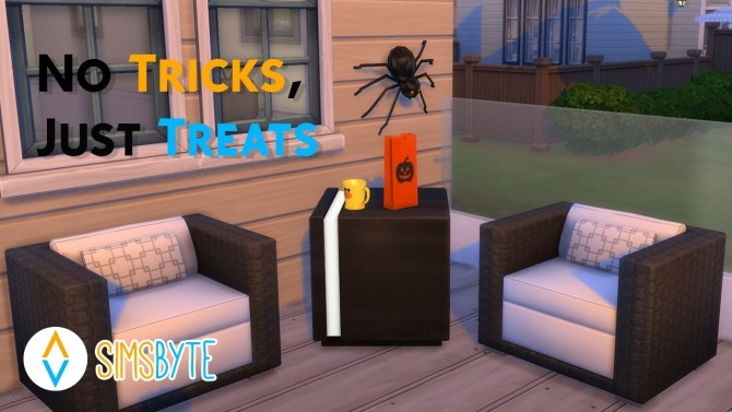 Sims 4 No Tricks, Just Treats at Sims Byte