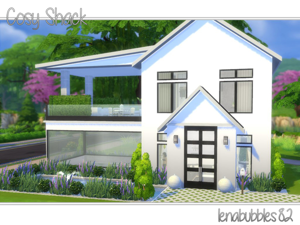 Cosy shack house by lenabubbles82 at tsr sims 4 updates for Single person house