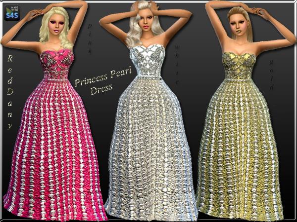 Dress Princess Pearl at Dany's Blog image 5911 Sims 4 Updates
