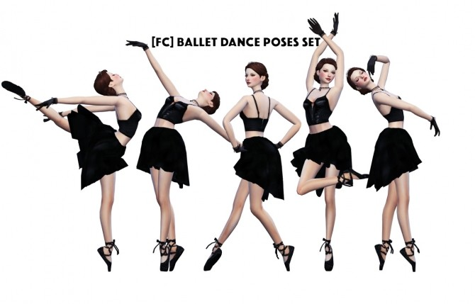 BALLET DANCE POSES SET at Flower Chamber image 5917 670x429 Sims 4 Updates