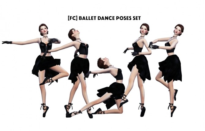 BALLET DANCE POSES SET at Flower Chamber image 6016 670x429 Sims 4 Updates