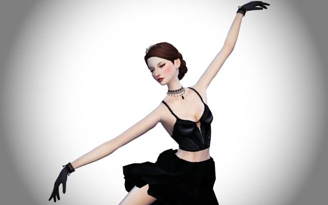 Ballet Dance Poses Set At Flower Chamber 187 Sims 4 Updates