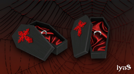 Coffin jewelry box with a ring at Soloriya Sims 4 Updates