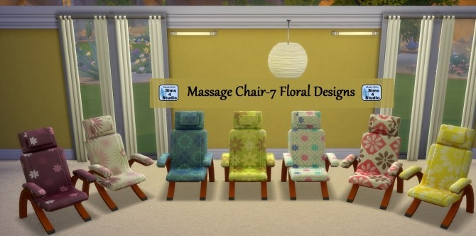 Massage Chair and Table Set by wendy35pearly at Mod The Sims image 657 670x332 Sims 4 Updates