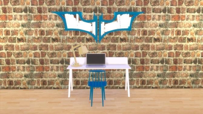 Sims 4 Batman BookCase at Meinkatz Creations