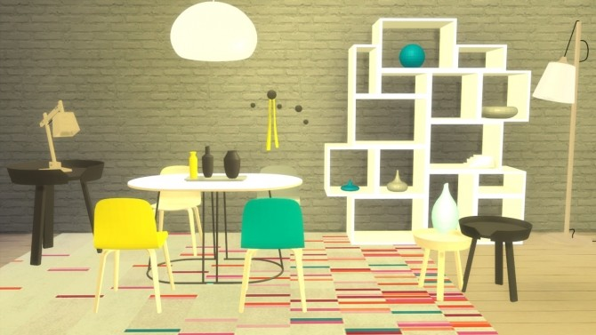 Sims 4 Set Muuto at Meinkatz Creations