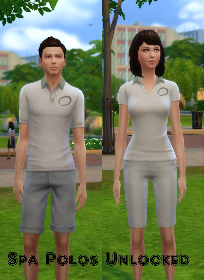 Sims 4 Spa Day Polo Unlockers by VentusMatt at Mod The Sims