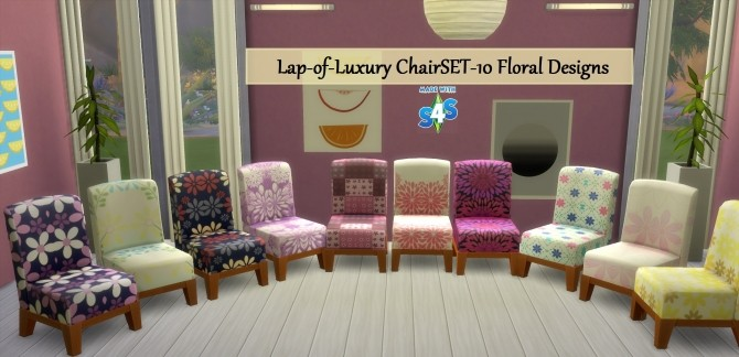 Sims 4 Lap of Luxury Modern Chair by wendy35pearly at Mod The Sims
