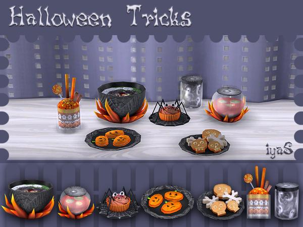 Halloween Treats by soloriya at TSR image 7221 Sims 4 Updates