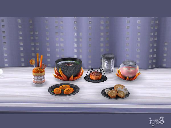 Halloween Treats by soloriya at TSR image 7318 Sims 4 Updates